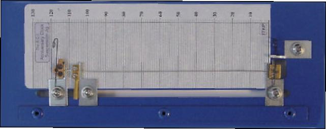 suspension spring forks Top Block Kern Miniature 61 Horolovar Bottom Block